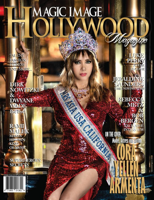 CORA YELLEN ARMENTA, MAGIC IMAGE HOLLYWOOD MAGAZINE